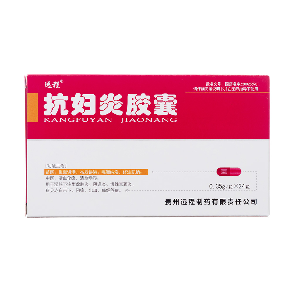 抗妇炎胶囊(远程)