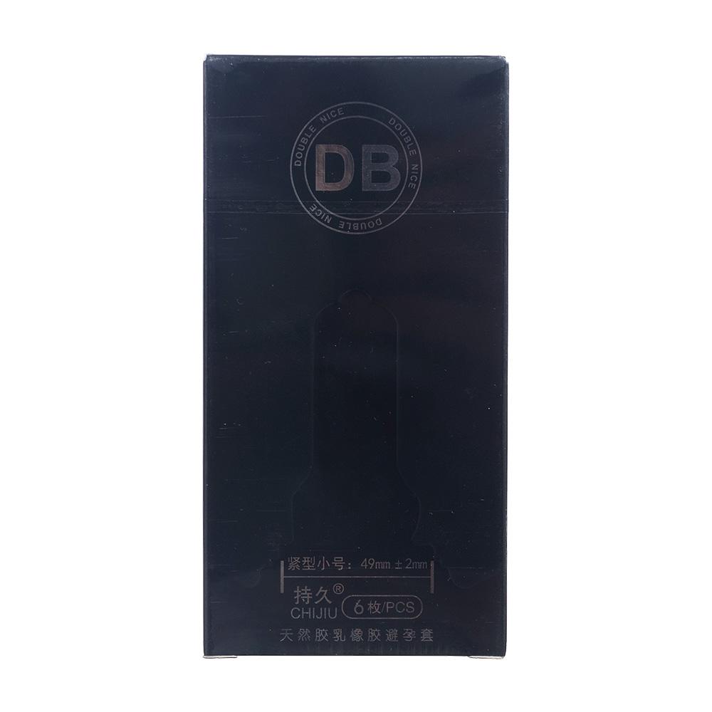 DB持久天然胶乳橡胶避孕套
